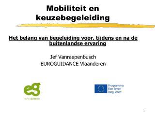 Mobiliteit en keuzebegeleiding