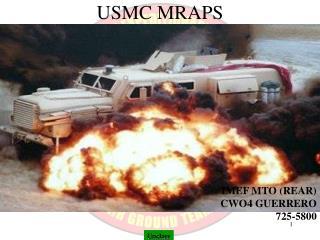USMC MRAPS