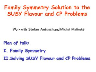 Family Symmetry Solution to the SUSY Flavour and CP Problems