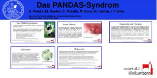 Das PANDAS-Syndrom
