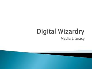 Digital Wizardry