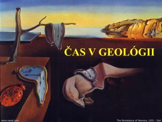 ČAS V GEOLÓGII