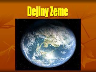 Dejiny Zeme
