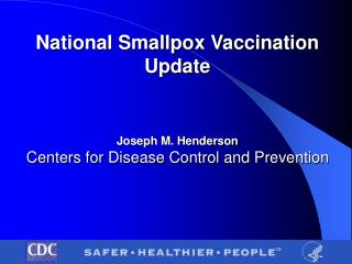 Smallpox Preparedness Definition