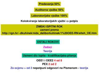 Predavanja 50%