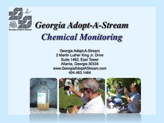 Georgia Adopt-A-Stream Chemical Monitoring