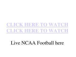 Air Force vs Army Live Football Streaming NCAA 2010 Online O