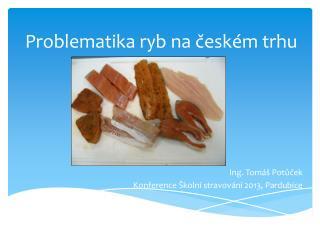 Problematika ryb na českém trhu