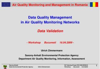 Ulrich Zimmermann Saxony-Anhalt Environmental Protection Agency