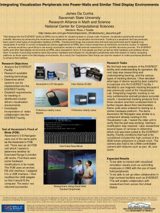 Integrating Visualization Peripherals into Power-Walls and Similar Tiled Display Environments