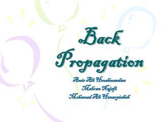 Back Propagation
