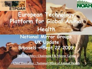 European Technology Platform for Global Animal Health