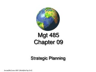 Mgt 485 Chapter 09