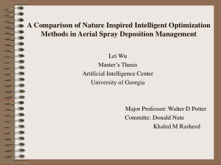 Lei Wu Master�s Thesis Artificial Intelligence Center University of Georgia