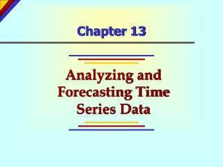 Analyzing and Forecasting Time Series Data