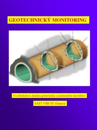 GEOTECHNICK� MONITORING