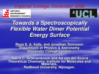 Towards a Spectroscopically Flexible Water Dimer Potential Energy Surface