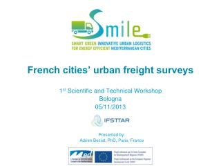 French cities' urban freight surveys