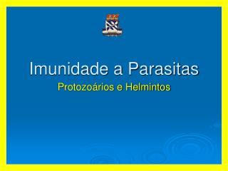 Imunidade a Parasitas