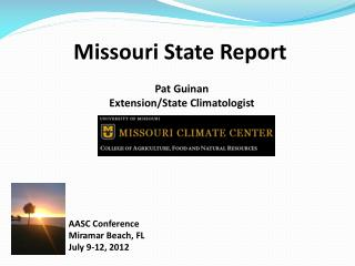Missouri State Report