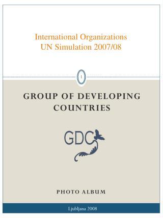 International Organizations UN Simulation 2007/08