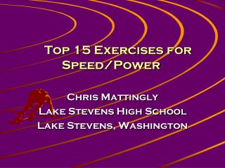 Top 15 Exercises for Speed/Power