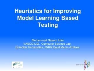 Heuristics for Improving Model Learning Based Testing