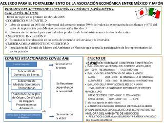 ACUERDO PARA EL FORTALECIMIENTO DE LA ASOCIACIÓN ECONÓMICA ENTRE MÉXICO Y JAPÓN