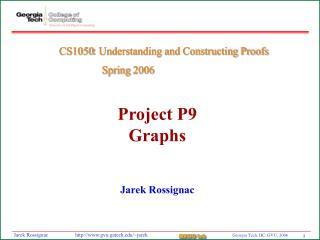 Project P9 Graphs