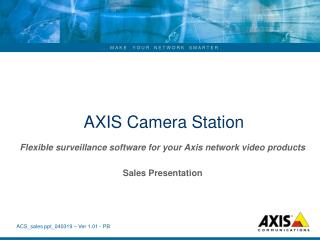 AXIS Camera Station