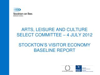 ARTS, LEISURE AND CULTURE SELECT COMMITTEE – 4 JULY 2012