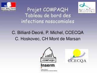 Projet COMPAQH Tableau de bord des infections nosocomiales