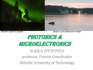 Photonics & MICROELECTRONICS