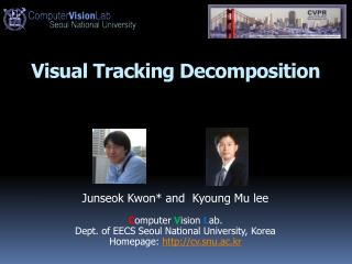 Visual Tracking Decomposition
