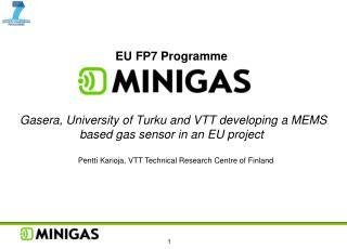 Pentti Karioja, VTT Technical Research Centre of Finland