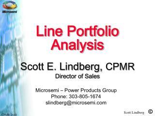 Line Portfolio Analysis