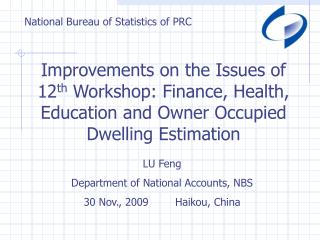 National Bureau of Statistics of PRC