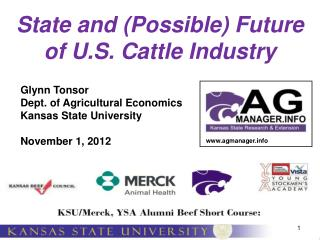 State and (Possible) Future of U.S. Cattle Industry
