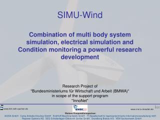 """Research Project of  """"Bundesministeriums für Wirtschaft und Arbeit (BMWA)"""""""