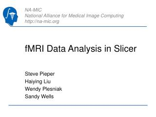 fMRI Data Analysis in Slicer