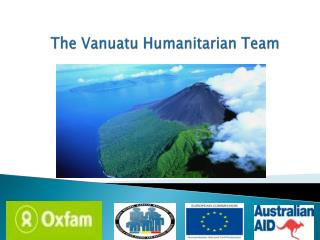 The Vanuatu Humanitarian Team