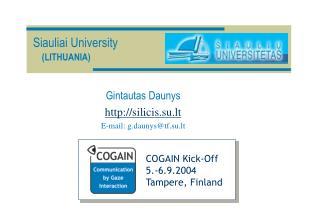 Siauliai University (LITHUANIA)