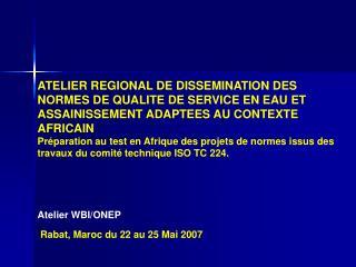 �largissement de la Probl�matique Claude Jamati (WBI)