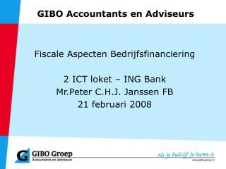 GIBO Accountants en Adviseurs
