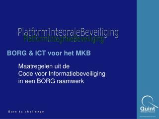 BORG & ICT voor het MKB
