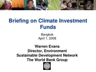 Briefing on Climate Investment Funds