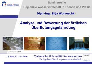 Seminarreihe  Regionale Wasserwirtschaft in Theorie und Praxis