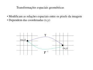 Transformações espaciais geométricas