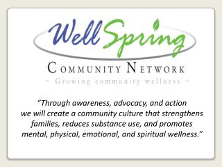 """Through awareness, advocacy, and action"