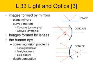 L 33 Light and Optics [3]